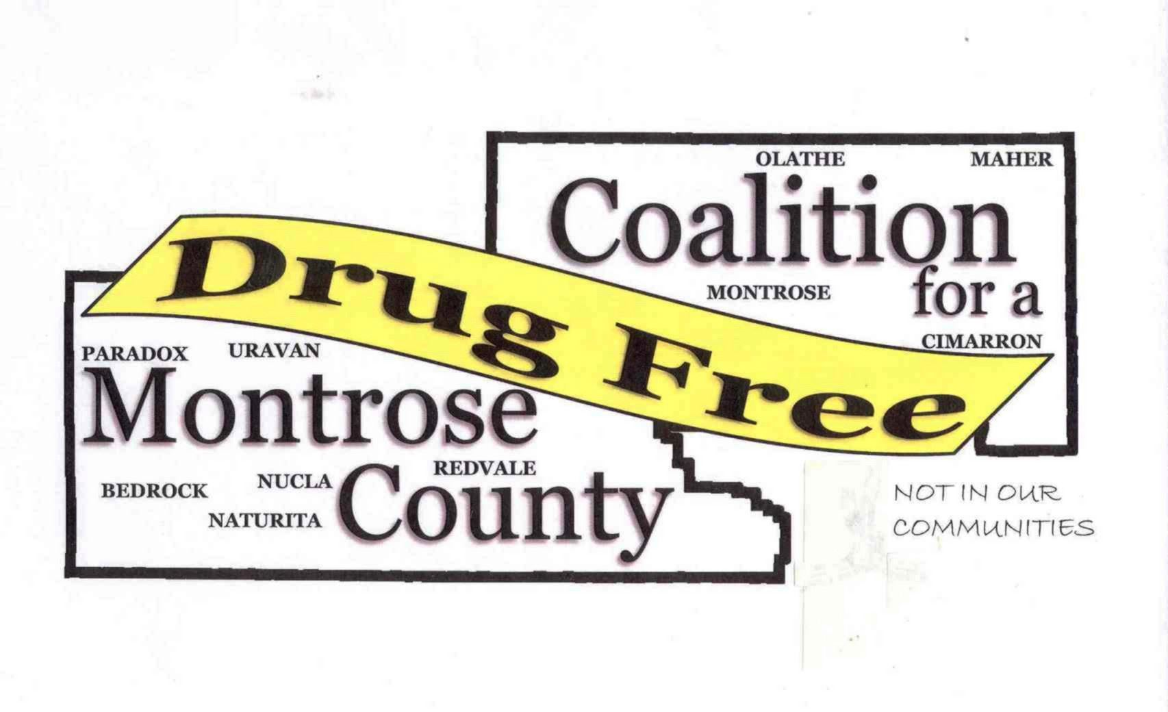 Coalition for a Drug Free Montrose County Logo