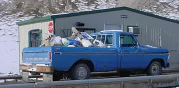 Solid Waste in Truck