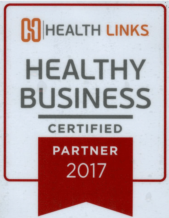 Health Links Healthy Business Logo