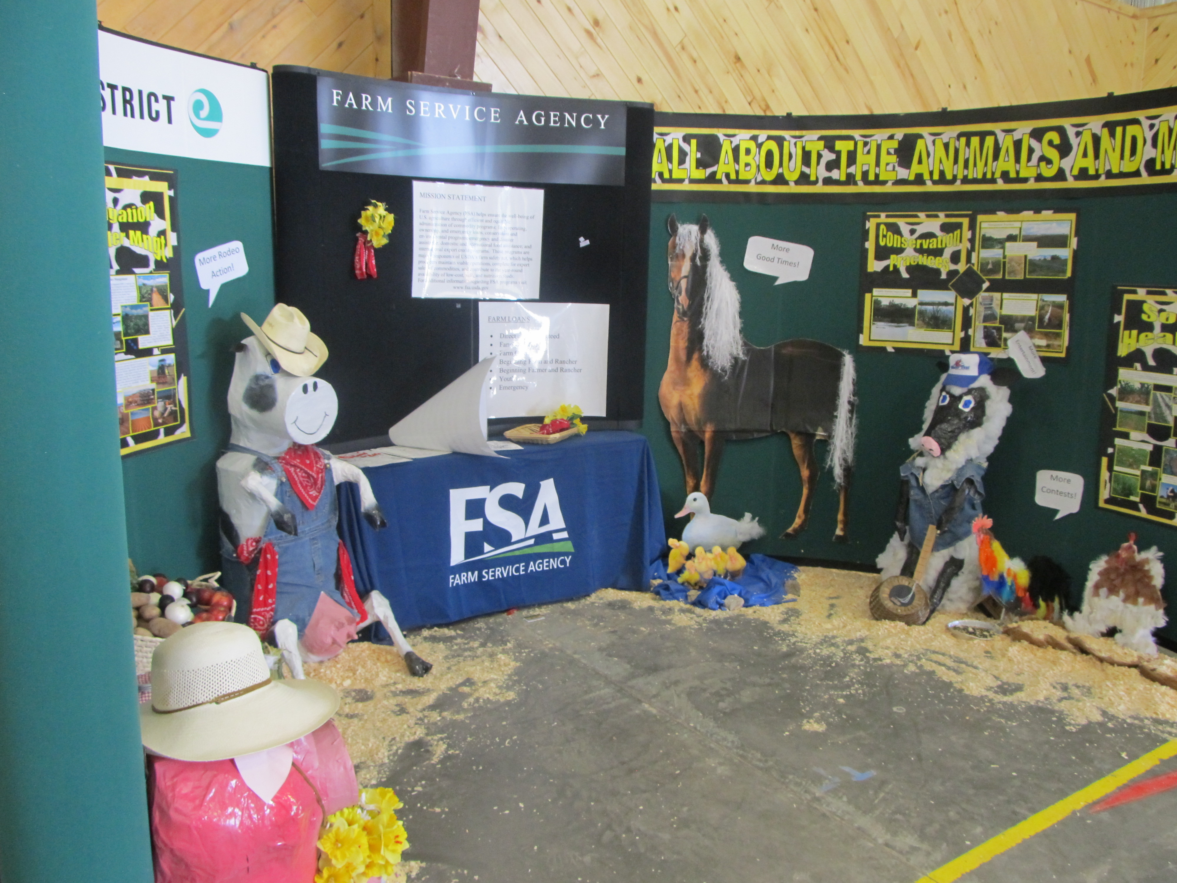 2012 Montrose County fair and Rodoe Vendor Booths